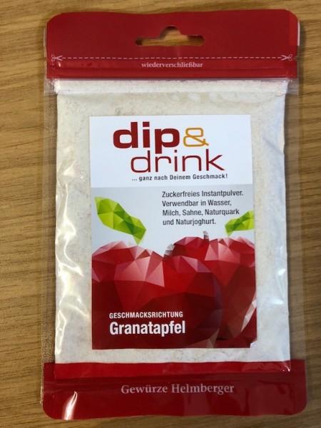 Dip & Drink - GRANATAPFEL