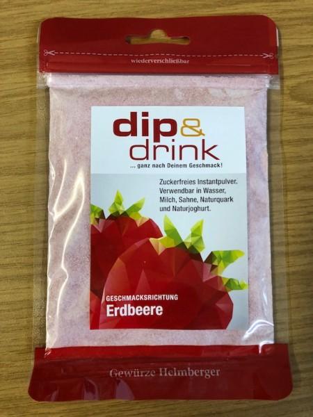 Dip & Drink - ERDBEERE