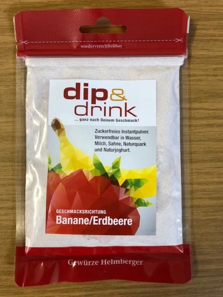 Dip & Drink BANANE ERDBEERE