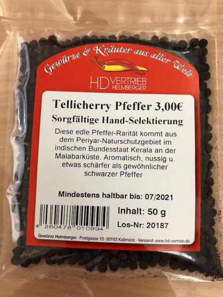 Tellicherry Pfeffer - TGSEB