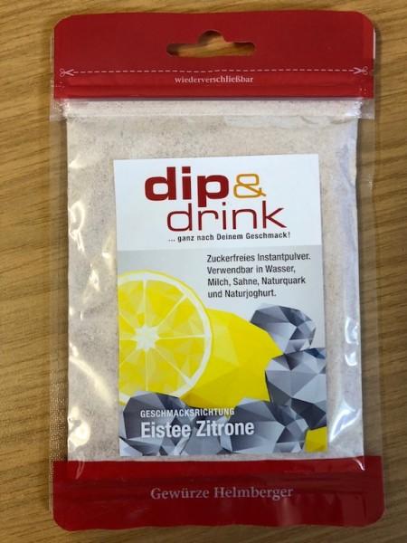 Dip & Drink - EISTEE ZITRONE