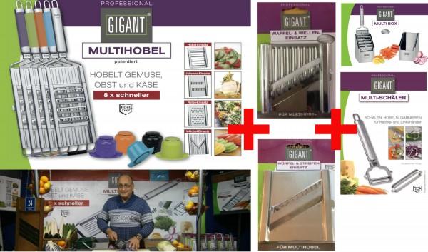Gigant Multihobel KOMPLETTSET inkl. Multi-Box