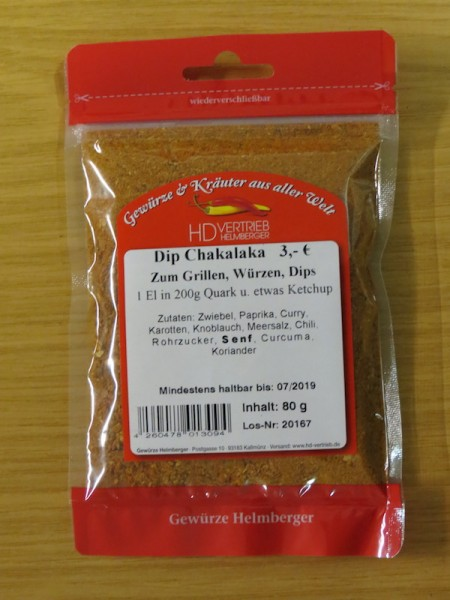 Dip Chakalaka