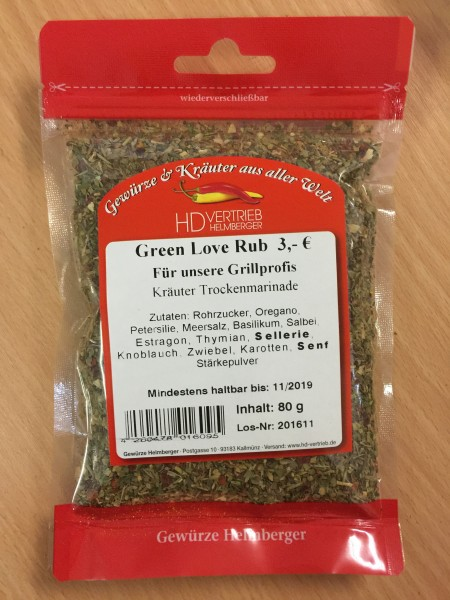 Green Love Rub