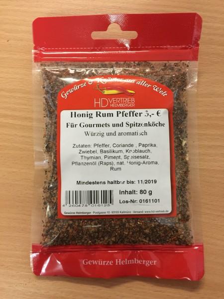 Honig Rum Pfeffer